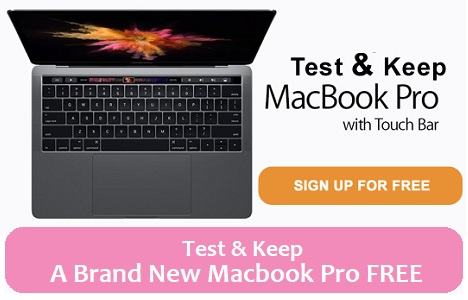 Get A Free Apple MacBook Pro With Touch Bar UK