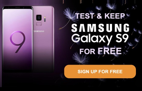 Get A Free Samsung Galaxy S9 UK