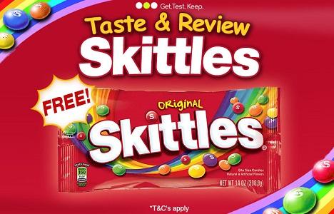 Get Free Skittles Sweets UK
