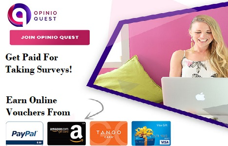 Get Paid For Online Surveys With Opinio Quest Best Paid Survey Offers
