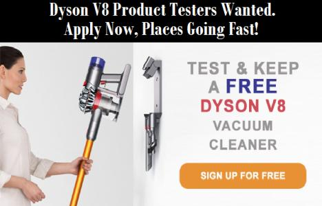 Review & Keep Free Dyson V8 Animal Vacuum Cleaner Worth £400