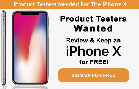 Test & Keep Free iPhone X UK